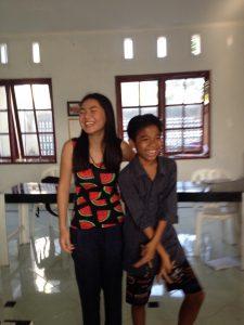 English teacher in Bali