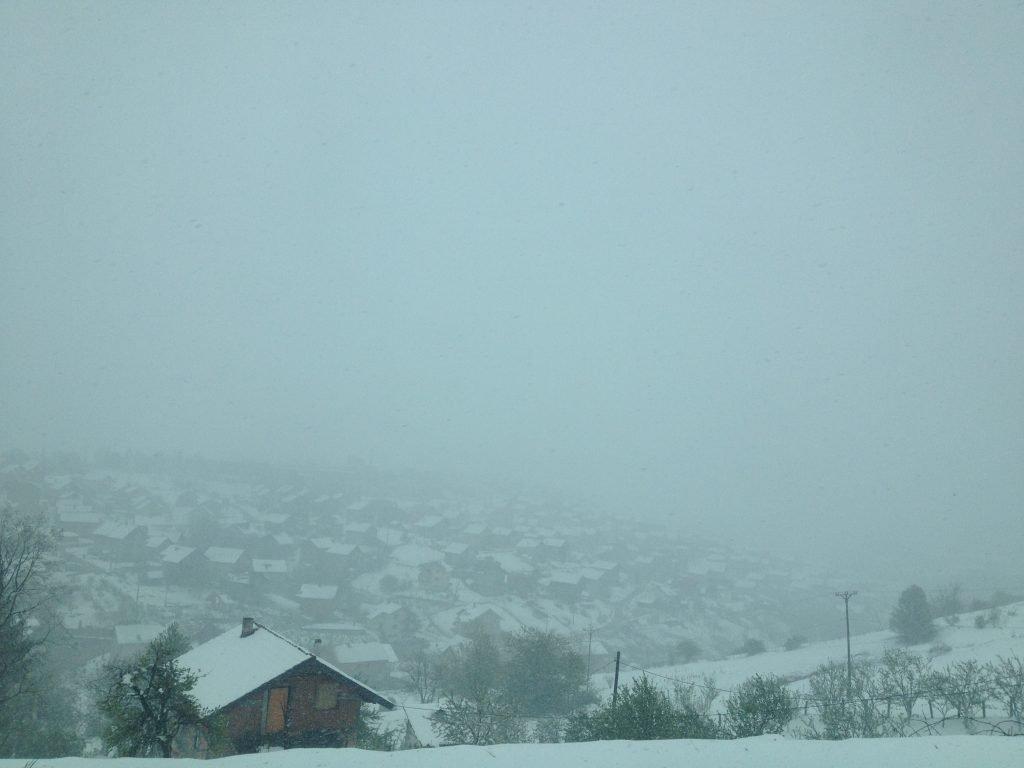Snow Sarajevo