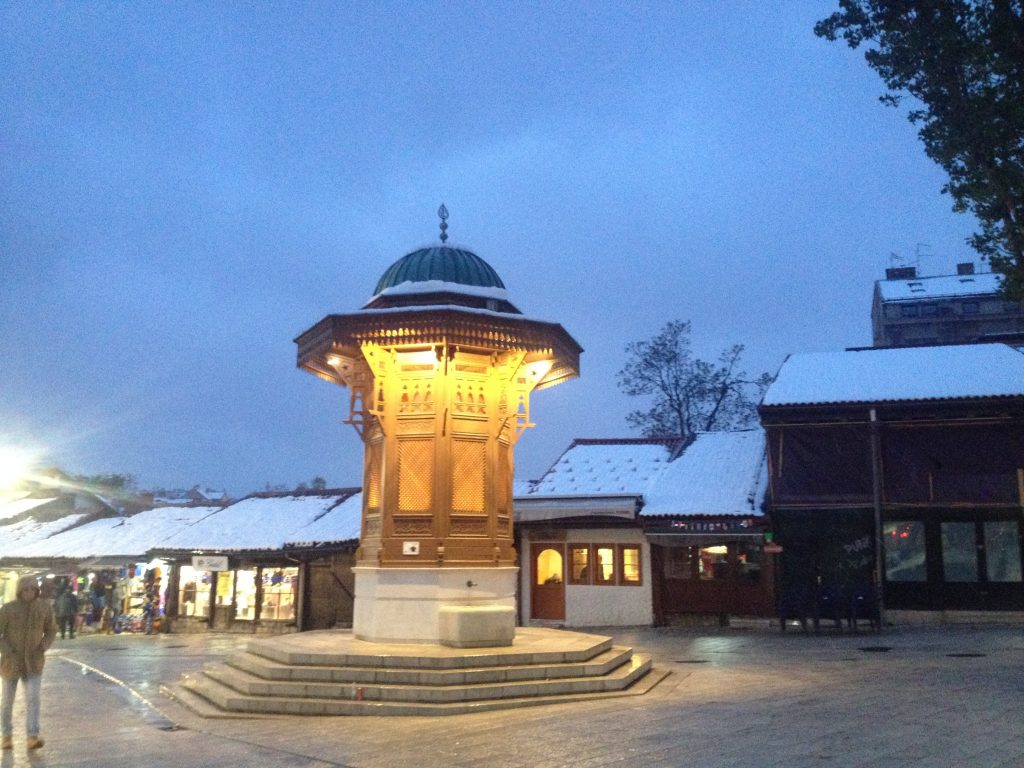 Fountain Sarajevo