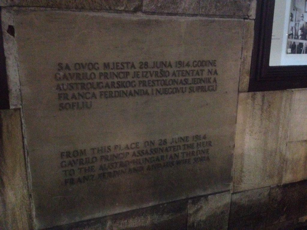 Assination of Franz Ferdinand