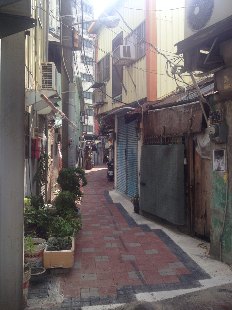 Alley in Taichung